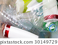 Picture of utilized PET bottles 30149729