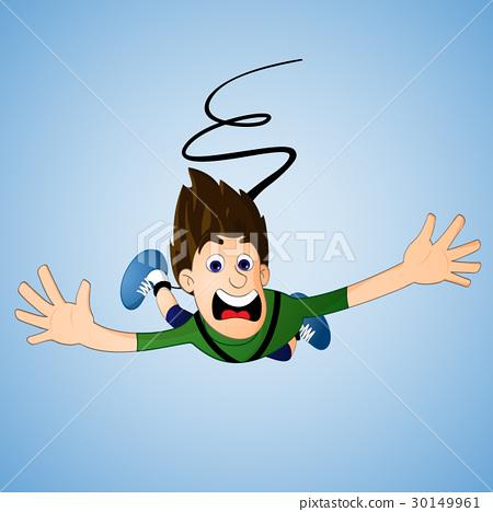 45245036273f Bungee jumping - Stock Illustration  30149961  - PIXTA