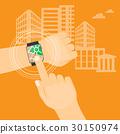hand, navigation, gps 30150974