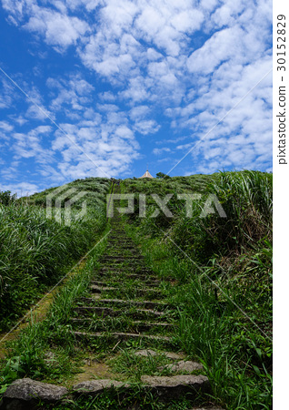 Mountain in the vicinity of the 9th mountain castle in Taiwan 30152829