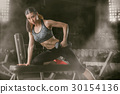 Fitness woman 30154136