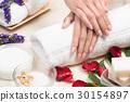 beauty woman hands  30154897