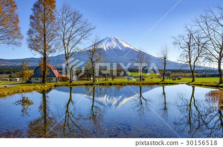Fuji Mountain Refection at Fumotoppara Campground 30156518