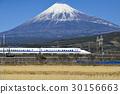 Fuji Mountain and Shinkansen Bullet Train 30156663