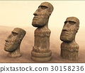 moai, the moai, stone statue 30158236