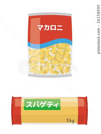 spaghetti, spagetti, dried noodles 30158495