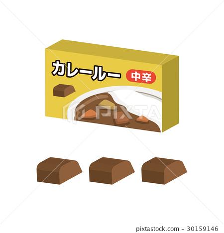 咖哩 咖哩醬 油脂麵糊 30159146