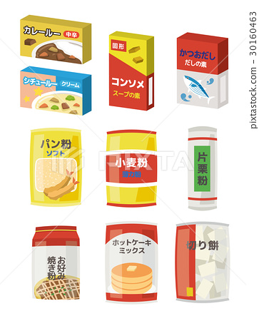 foodstuff, food item, vector 30160463