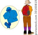 トレッキングの服装 30160819