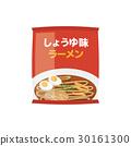 간장 맛라면 【재료 시리즈] 30161300