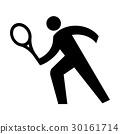 网球 象形文字 选手 30161714