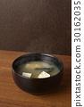 된장국, 일본 된장국, 두부 30162035