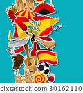 spain, spanish, vector 30162110