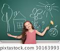 girl, school, board 30163993