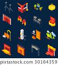 icons, set, theatre 30164359