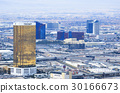 Las Vegas Hotels, Casinos top view city landscape  30166673
