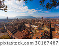 Lucca view from Guinigi Tower. 30167467