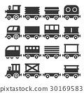 Train Icons Set 30169583