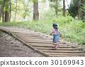 산책, 산길, 아이 30169943
