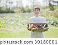 여성, 여자, 야채 30180001