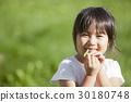 เด็กผู้หญิง,โคลเวอร์สี่แฉก,ยิ้ม 30180748