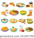 icon, set, food 30185799