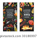 Picnic Barbecue Vertical Banners 30186997