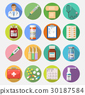 medical, icon, vector 30187584