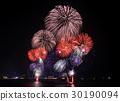 Fireworks at beach 30190094