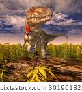 恐龙 肉食动物 三维 30190182