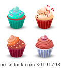 紙杯蛋糕 食物 食品 30191798