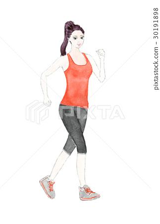 Women who jog 30191898