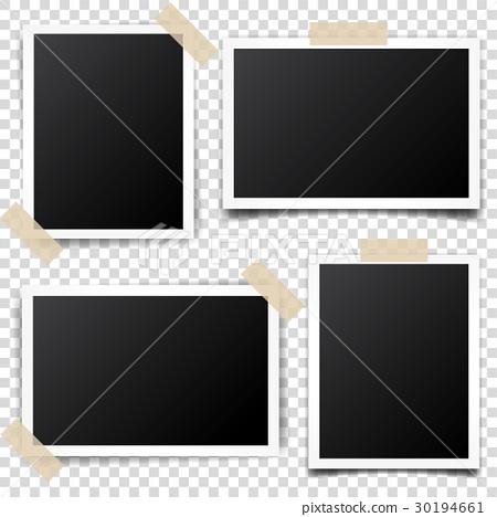 Photo card,frame,film set. Retro,vintage 30194661