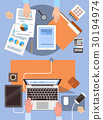 business, desk, hand 30194974