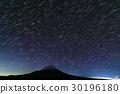 모토스 · 竜ヶ岳에서 보는 후지산과 밤하늘 30196180