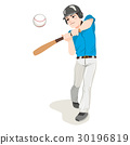Baseball Player 30196819