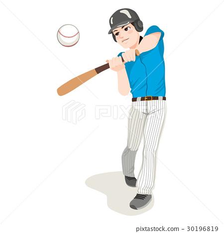 Baseball Player 30196819