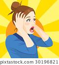Surprised Woman 30196821