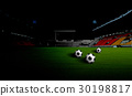 soccer field and the bright lights 30198817
