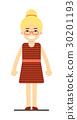金发 女人 女性 30201193