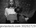 video businesswoman fear 30202729