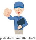 矢量 藍領工人 工人 30204624