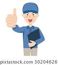 矢量 蓝领工人 工人 30204626