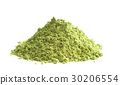 Green matcha tea powder. 30206554