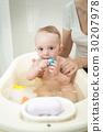 baby, bath, boy 30207978