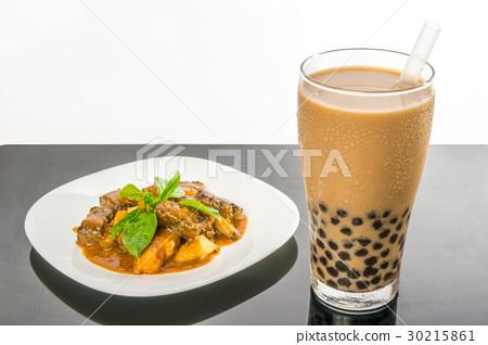 珍珠奶茶與沙茶滷味 30215861