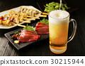 啤酒 淡啤酒 生魚片 30215944