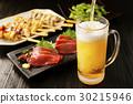 啤酒 淡啤酒 生魚片 30215946