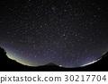 모토스 · 竜ヶ岳에서 보는 후지산과 밤하늘 30217704