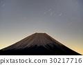 모토스 호반 · 竜ヶ岳에서 보는 새벽의 후지산 30217716